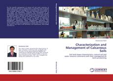 Bookcover of Characterization and Management of Calcareous Soils