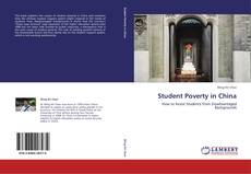 Student Poverty in China的封面