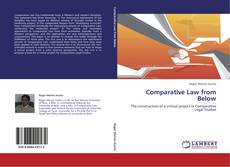 Buchcover von Comparative Law from Below