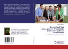 Buchcover von Contextualising Management Practice for Zimbabwe Cultural Environment