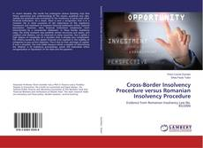 Copertina di Cross-Border Insolvency Procedure versus Romanian Insolvency Procedure