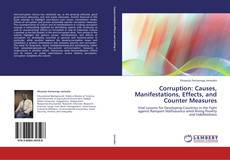 Copertina di Corruption: Causes, Manifestations,  Effects, and  Counter Measures