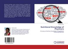 Bookcover of Nutritional Knowledge of Physicians