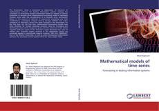 Capa do livro de Mathematical models of time series