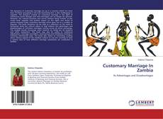 Bookcover of Customary Marriage In Zambia