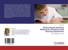 Capa do livro de Phonic-Based Sentence Method for Students with Hearing Impairment