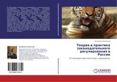 Bookcover of Теория и практика законодательного регулирования в России