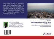 Buchcover von Management of water and sanitation