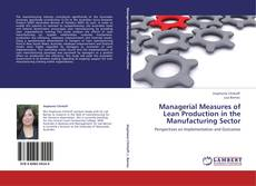 Bookcover of Managerial Measures of Lean Production in the Manufacturing Sector