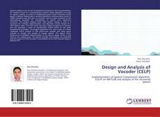 Design and Analysis of Vocoder (CELP)的封面