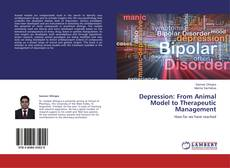Capa do livro de Depression: From Animal Model to Therapeutic Management