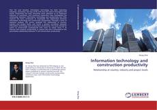 Borítókép a  Information technology and construction productivity - hoz