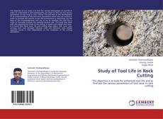 Bookcover of Study of Tool Life in Rock Cutting