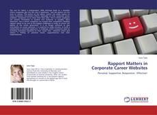 Borítókép a  Rapport Matters in Corporate Career Websites - hoz