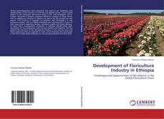 Capa do livro de Development of Floriculture Industry in Ethiopia