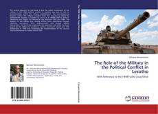 Buchcover von The Role of the Military in the Political Conflict in Lesotho