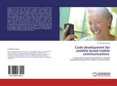 Buchcover von Code development for satellite based mobile communications.