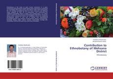Capa do livro de Contribution to Ethnobotany of Mehsana District