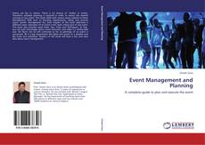 Couverture de Event Management and Planning