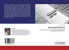 Bookcover of Municipal Finance