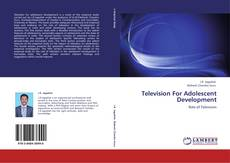 Television For Adolescent Development kitap kapağı