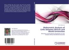 Обложка Webometric Analysis of Links between African and World Universities
