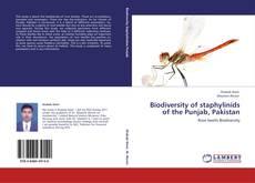 Buchcover von Biodiversity of staphylinids of the Punjab, Pakistan