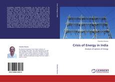 Capa do livro de Crisis of Energy in India