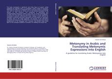 Buchcover von Metonymy in Arabic and Translating Metonymic Expressions into English