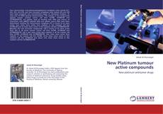 Bookcover of New Platinum tumour active compounds