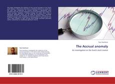 Bookcover of The Accrual anomaly