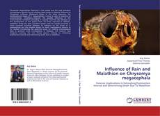 Influence of Rain and Malathion on Chrysomya megacephala的封面