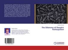 Bookcover of The Dilemma of People's Participation