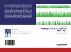 Capa do livro de Photosynthesis in Rice with SUB 1 QTL