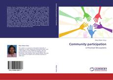 Bookcover of Community participation