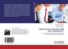 Couverture de What Factors Influence ERP User Satisfaction?