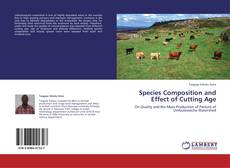 Buchcover von Species Composition and Effect of Cutting Age