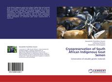 Copertina di Cryopreservation of South African Indigenous Goat Semen