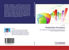Couverture de Production Functions