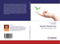 Bookcover of Geriatric Dental Care