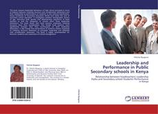 Capa do livro de Leadership and Performance in Public Secondary schools in Kenya