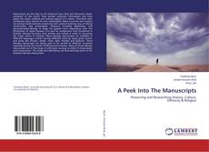 Bookcover of A Peek Into The Manuscripts