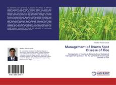 Обложка Management of Brown Spot Disease of Rice