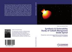 Bookcover of Synthesis & Sinterability Study of Cobalt Manganese Oxide Spinel