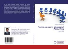 Buchcover von Terminologies in Managerial Accounting
