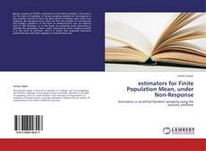 Обложка estimators for Finite Population Mean, under Non-Response