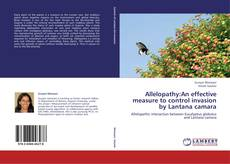 Portada del libro de Allelopathy:An effective measure to control invasion by Lantana camara