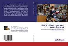 Couverture de Role of College Libraries in Career Guidance