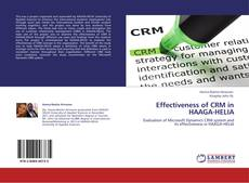 Bookcover of Effectiveness of CRM in HAAGA-HELIA