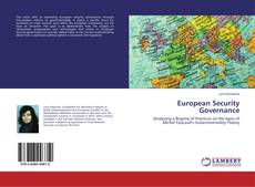 Bookcover of European Security Governance